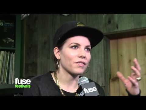 Skylar Grey On Eminem, Grammy Sideboob, New Album - SXSW 2013