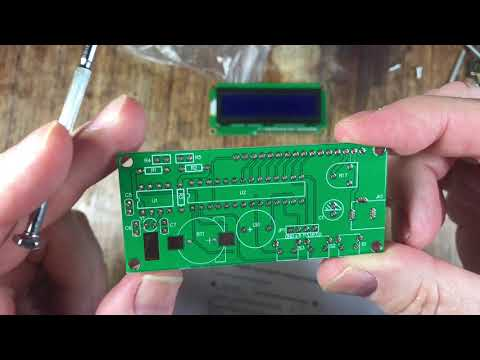 Banggood - LCD 1602 DC 5V DIY Electronic Clock Kit Temperature Alarm Function With Acrylic Shell