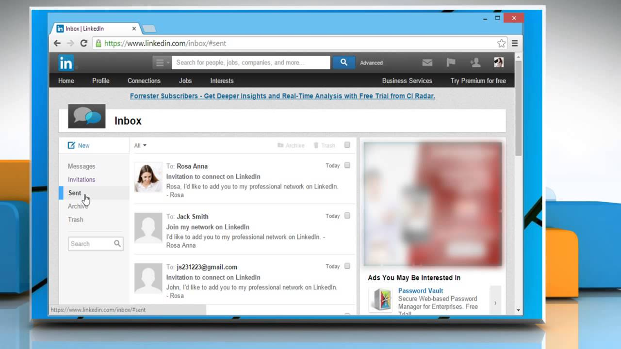 pictures How to Send an Invitation on LinkedIn