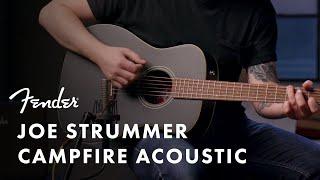 Joe Strummer Campfire Acoustic | Artist Signature Series | Fender