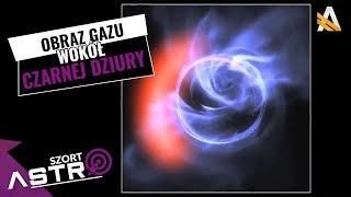 Mamy obraz gazu dookoła czarnej dziury - AstroSzort