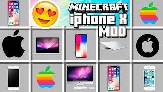 Minecraft - Iphone X MOD!! iPAD, iMAC y más!!!