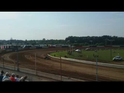 USAC Sprint Car Hot Laps  Terre Haute Action Track
