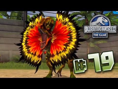 MEGA Dilophosaurs!    Jurassic World - The Game - Ep 79 HD