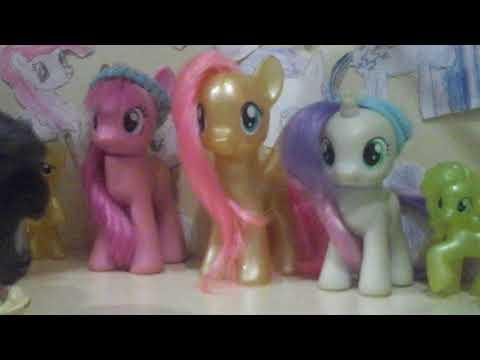 Minişlerle ponyler buluşuyor tanışıyor bol macera (part 1)