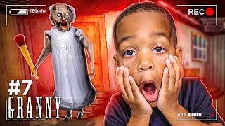 ESCAPE SCARY GRANNY HOUSE AT 3AM CHALLENGE PART 7 | Don't Play This At Night With DJ's Clubhouse!