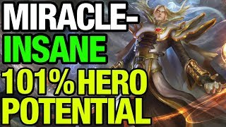 MIRACLE- USING 101% INVOKER POTENTIAL!! - Dota 2