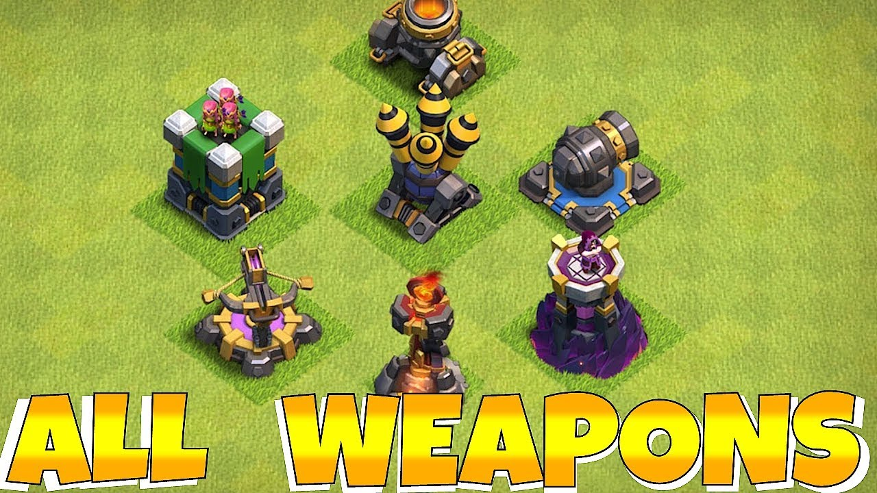 """IN CASE YOU MISSED IT!! """"Clash Of Clans"""" ALL UPGRADES!!"""
