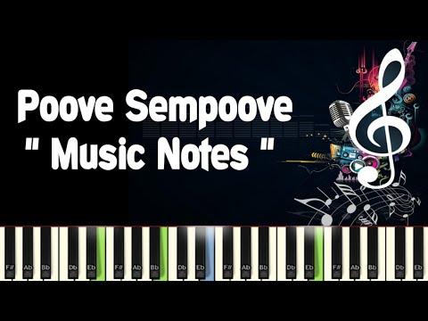 Poove Sempoove /Piano Notes /Midi File /Karaoke