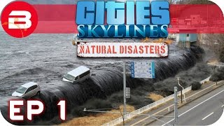 Cities skylines natural disasters gameplay - by the dam scenario (hard) #1