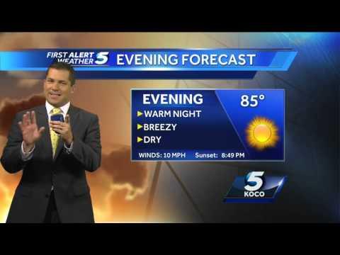 Warm night for Oklahoma