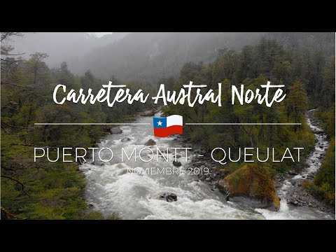 Carretera Austral Norte. Puerto Montt - Hornopirén - Caleta Gonzalo - Pumalín - Queulat - Futaleufú.