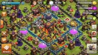 Clash of Clans - New Town Hall 10 War Base (Air Sweeper)