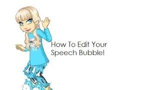 How To Edit Your Woozen's Speech Bubble