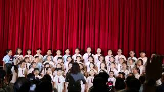 香港嘉諾撒學校 65周年開放日-合唱團 (2017-04-3