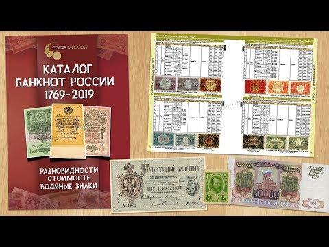 Обзор Каталога Банкнот 1769-2019 CoinsMoscow + КОНКУРС