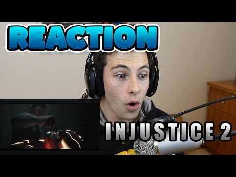 Injustice 2 - Announcement Trailer REACTION!