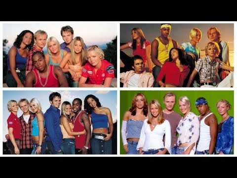 Evolution of S Club 7 (Chart History 1999 - 2003)