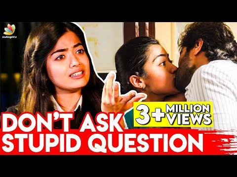 Don't Ask Annoying Questions! : Rashmika Mandanna   Thalapathy Vijay, Devarkonda   Dear Comrade