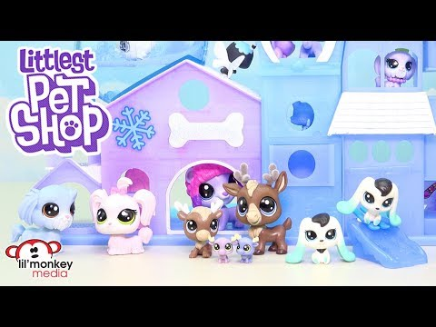 LPS New Black & White Style Collection, LPS Hotel and More!LPS Toy Review Play Video!
