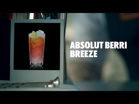 ABSOLUT BERRI BREEZE DRINK RECIPE - HOW TO MIX