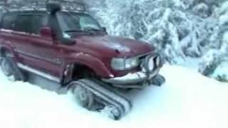 Тест-драйв гусениц для Нивы и Toyota Land Cruiser