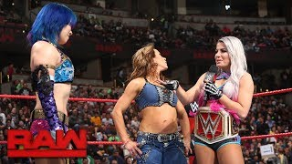 Alexa Bliss gloats about her win in the Women's Elimination Chamber Match: Raw, Feb. 26, 2018