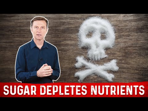 Why do Nutrients Get Depleted When Eating Sugar?