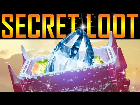 Destiny 2 - SECRET TREASURE CHEST LOCATION!