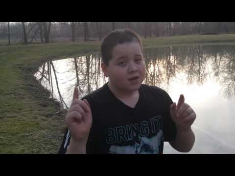 Crazy Kid Jumps in Freezing Cold Water!