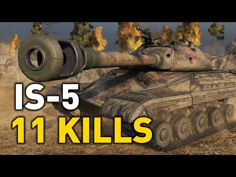 World Of Tanks || IS-5 - 11 Kills - 7,000+ DMG