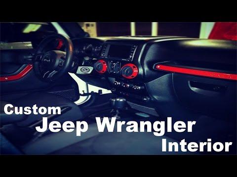 DIY Custom Jeep Wrangler Interior - Part 1