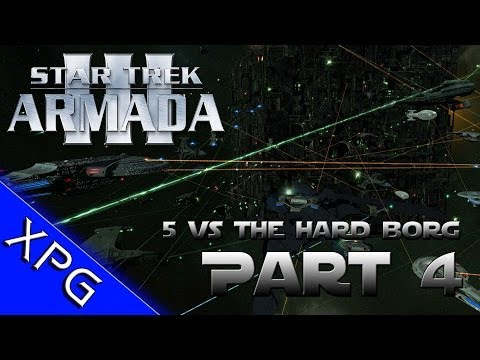 Lets Play... Star Trek Armada 3 (5 Players vs Borg) Part 4 (Sins of a Solar Empire Total Conversion)