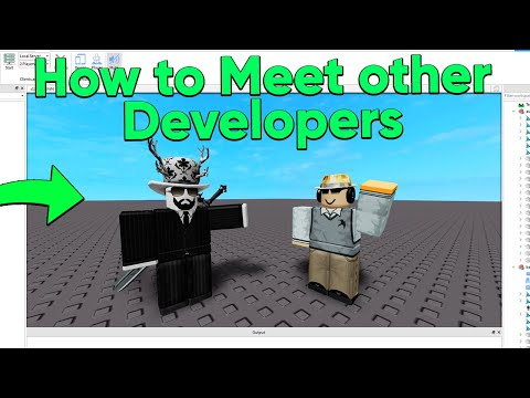 How to Meet Other Roblox Developers