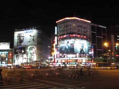 Ximen Station, Red House and Ximending - Taipei/台北