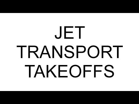 JET TRANSPORT TAKEOFFS