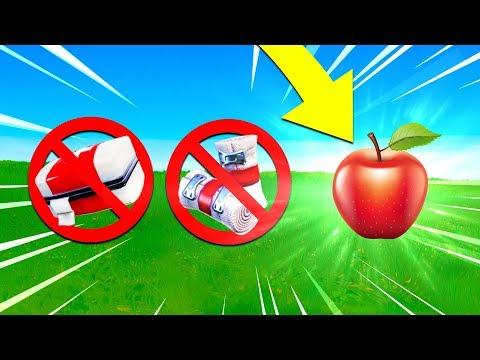 APPLE ONLY Challenge In Fortnite! (Apples Suck)