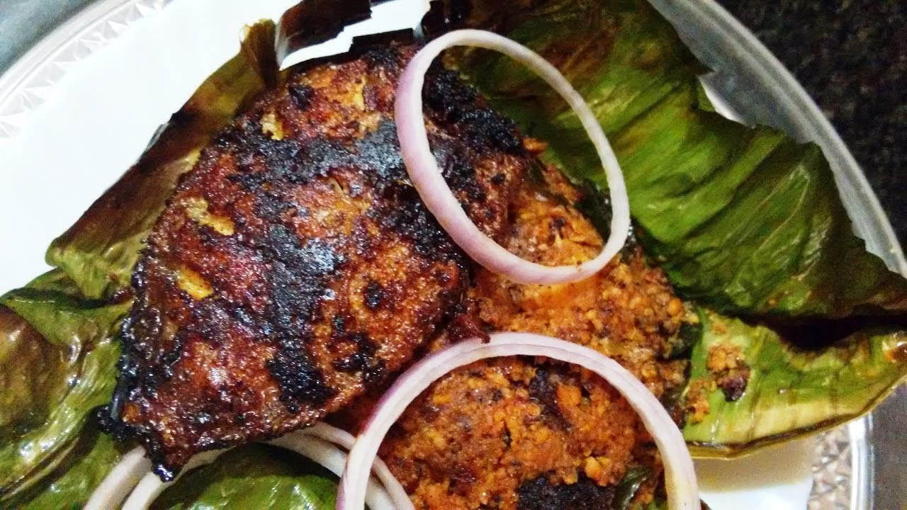 Karimeen pollichathu pearl spot fish fry kerala style for How to make fish fry