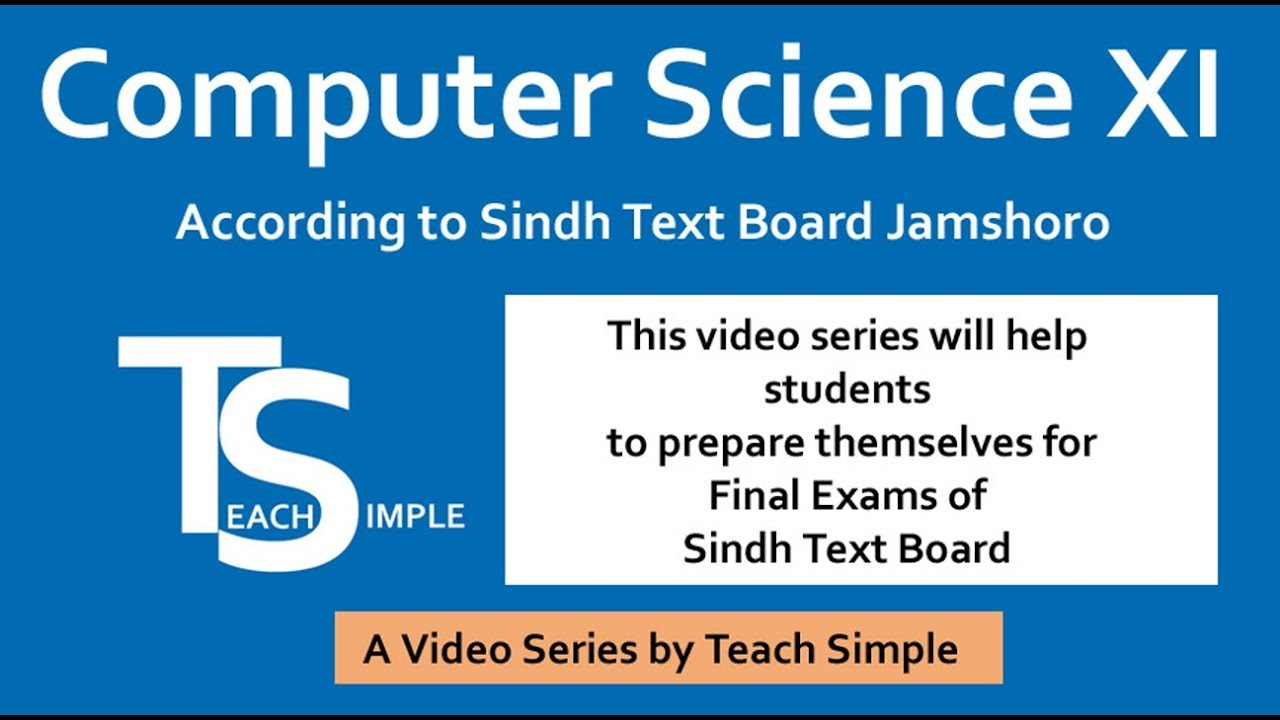 ICS/FSC Part 1 Chapter 1, lecture 5, Part 2 (Scanning Devices and types)