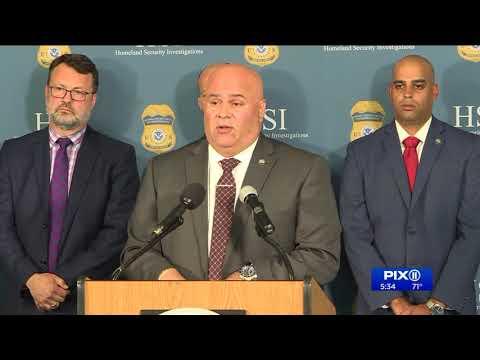 Officers arrest 35 in dark web bust, seize guns and drugs.mov