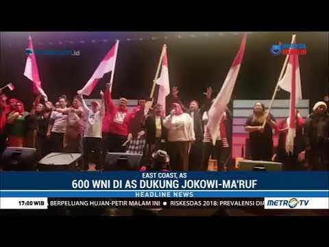 Ratusan WNI di AS Dukung Jokowi-Ma'ruf Mp3