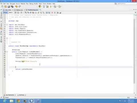 parte2  Llenar SelectOneMenu desde Base de Datos con JSF y Hibernate