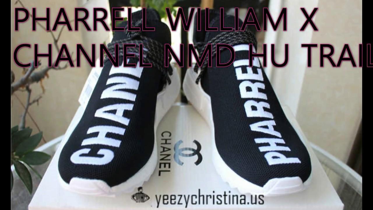 designer fashion 1986e 2744f PHARRELL WILLIAM X CHANNEL NMD HUMAN RACE