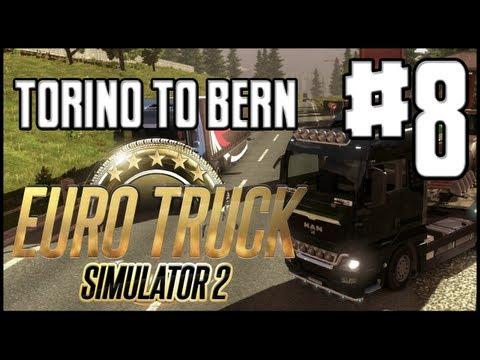 Euro Truck Simulator 2 - Ep. 8 - Torino To Bern - Buy a Scania Truck?