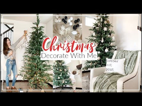 CHRISTMAS DECORATE WITH ME 2019 \ How to Decorate A Christmas Tree + HAUL | Momma From Scratch