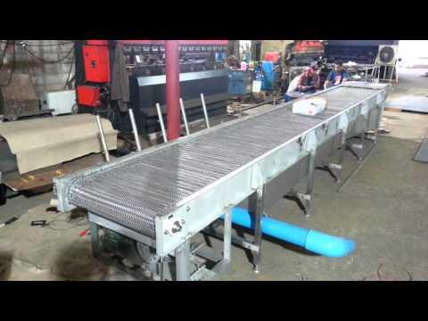 Stainless Wire Mesh Belt Conveyor