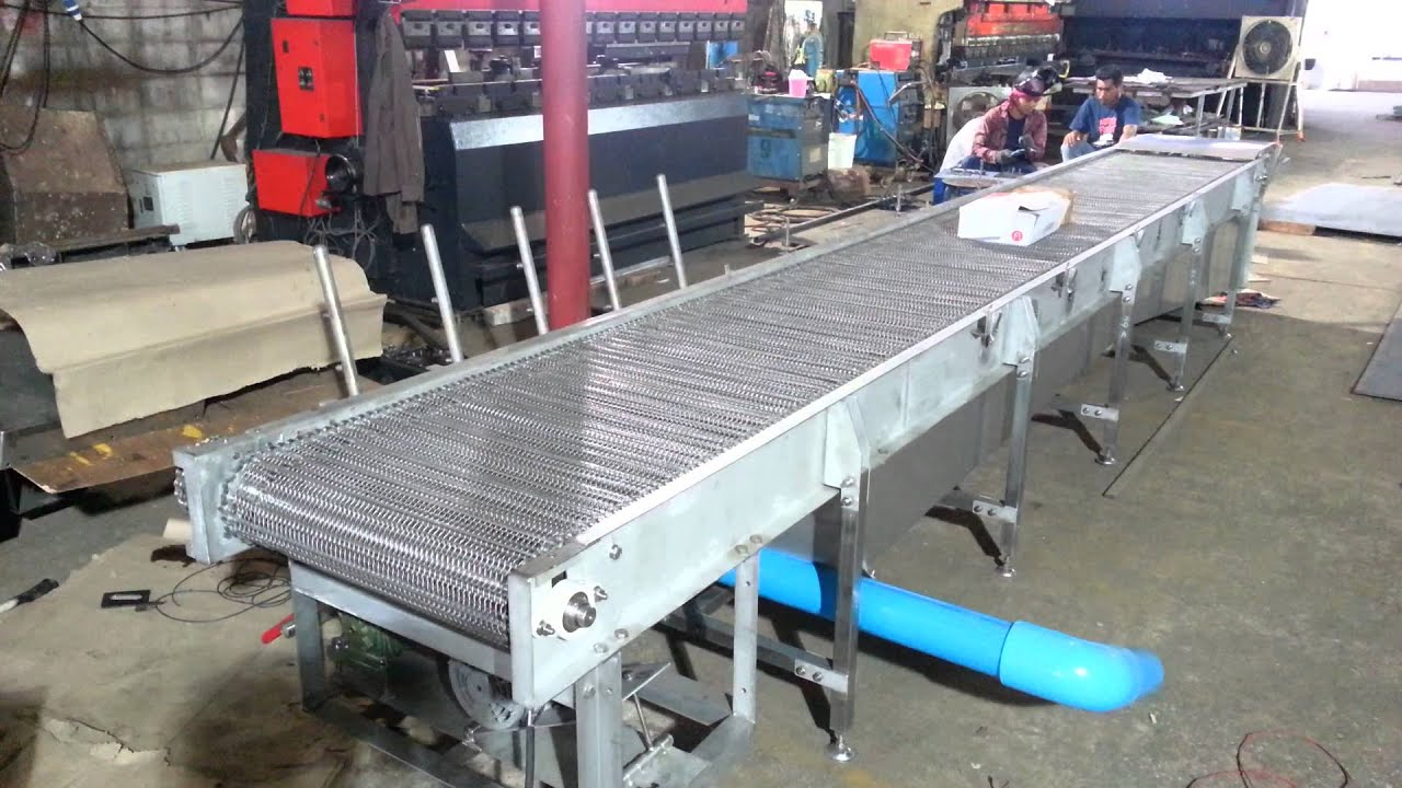 Exelent Wire Mesh Conveyor Photo - Electrical Diagram Ideas - itseo.info