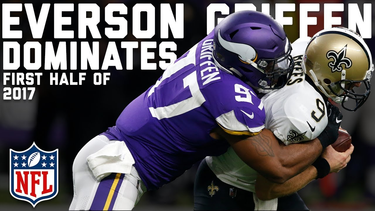 Joining the Elite Every Sack by Everson Griffen in 2017