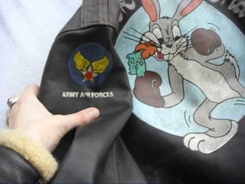 Eastman Leather Starsportswear A-2 Flight Jacket WWII Nose Art Pin UP Flight Gear