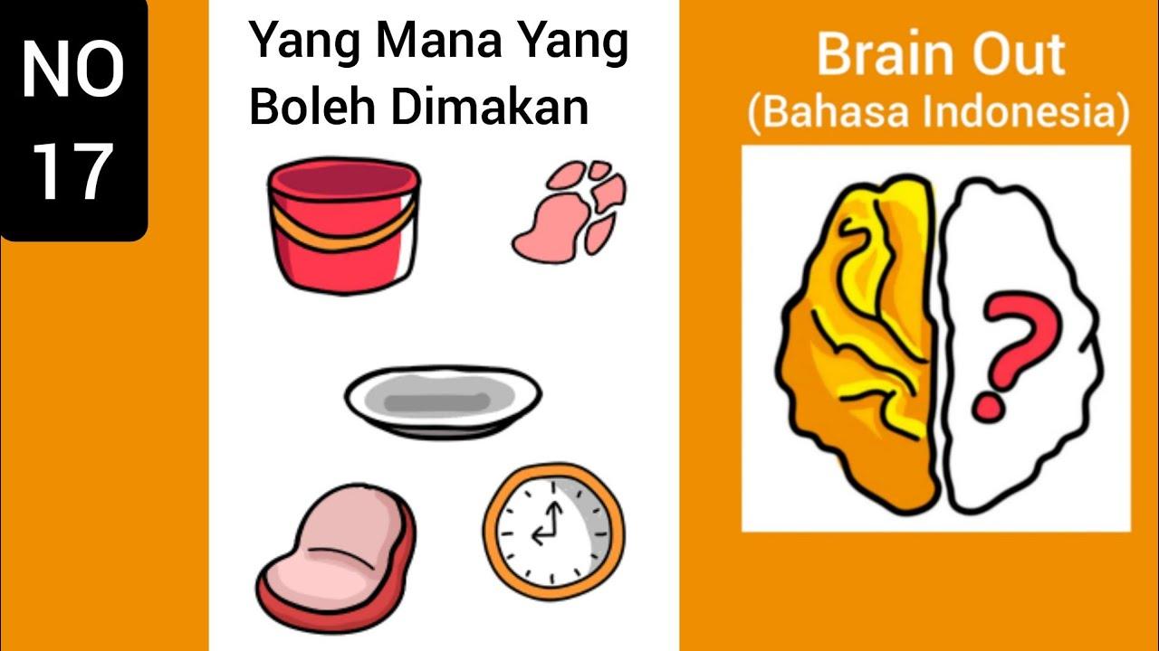 Brain Out Level 17: Yang Mana Yang Boleh Dimakan - YouTube